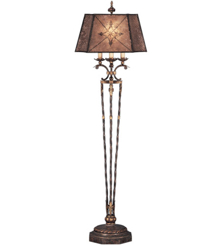 Fine Art Lamps 166120ST Villa 1919 69 inch 150 watt Rich Umber w/ Gilded Accents Floor Lamp Portable Light photo