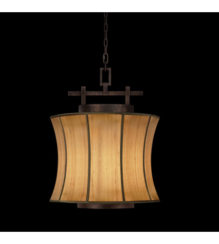 Fine Art Lamps Fusion 1 Light Pendant in Oxidized Bronze Patina 233449ST photo