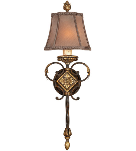 Fine Art Lamps Castile 1 Light Sconce in Antiqued Finish 234450ST photo