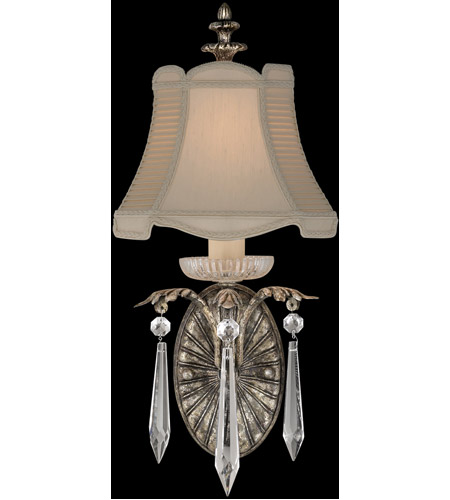 Fine Art Lamps Winter Palace 1 Light Sconce in Warm Antiqued Silver 327650ST photo