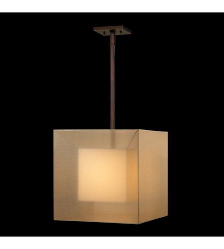 Fine Art Lamps Quadralli 1 Light Pendant in Rich Bourbon 330640ST photo