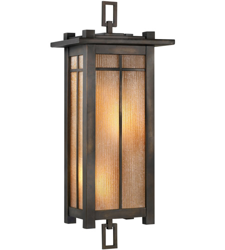 Fine Art Lamps Capistrano 2 Light Outdoor Coupe in Warm Bronze Patina 401581ST photo