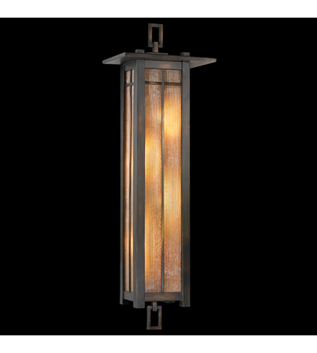 Fine Art Lamps Capistrano 4 Light Outdoor Coupe in Warm Bronze Patina 401681ST photo