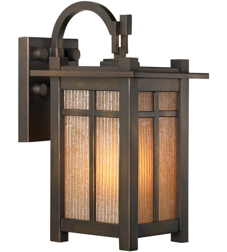 Fine Art Lamps 402081ST Capistrano 2 Light 25 inch Warm Bronze Patina Outdoor Wall Mount photo