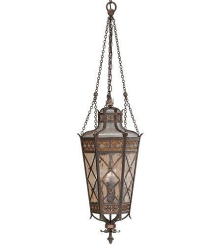 Fine Art Lamps Chateau Outdoor 4 Light Outdoor Lantern in Variegated Rich Umber Patina 402582ST photo