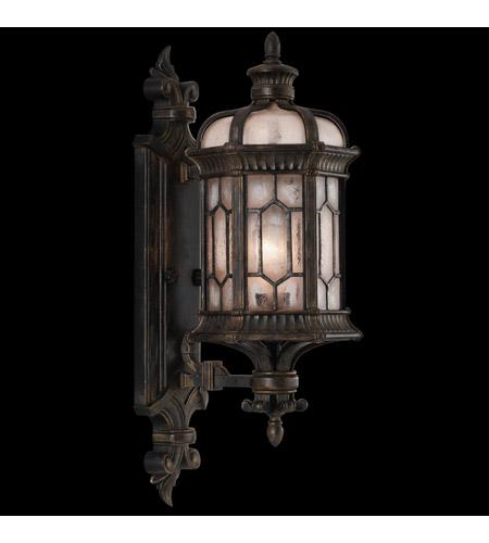 Fine Art Lamps Devonshire 1 Light Outdoor Wall Mount in Antiqued Bronze 413781ST photo
