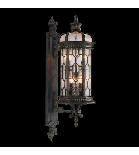 Fine Art Lamps Devonshire 4 Light Outdoor Wall Mount in Antiqued Bronze 413881ST photo