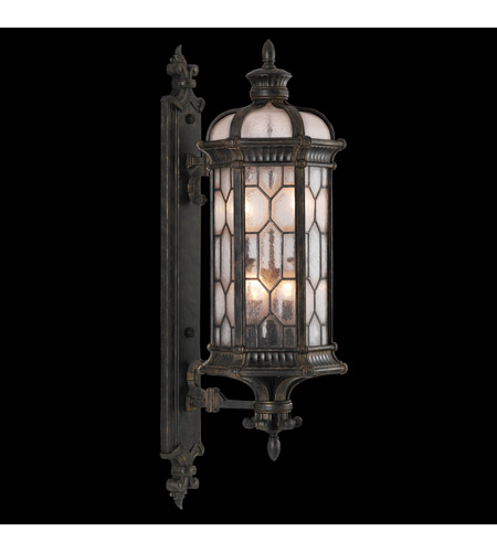 Fine Art Lamps Devonshire 4 Light Outdoor Wall Mount in Antiqued Bronze 413981ST photo