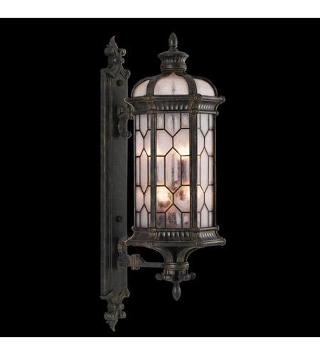 Fine Art Lamps Devonshire 6 Light Outdoor Wall Mount in Antiqued Bronze 414081ST photo