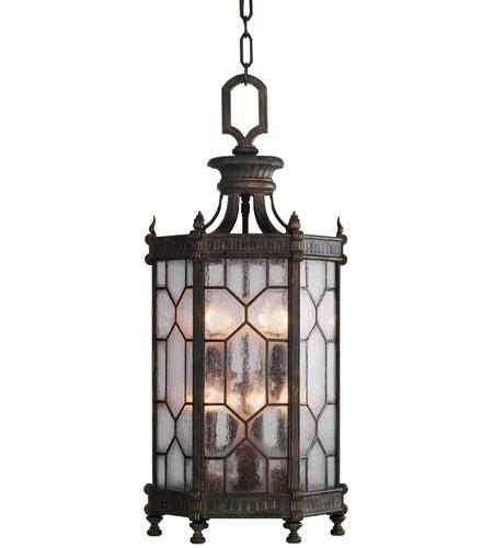 Fine Art Lamps 414282 1st Devonshire 8 Light 16 Inch Bronze Outdoor Lantern