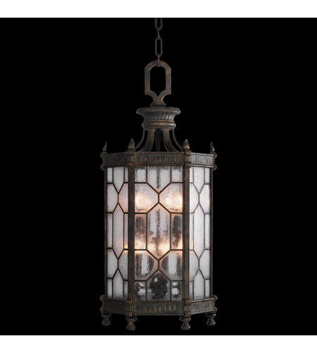 Fine Art Lamps Devonshire 8 Light Outdoor Lantern in Antiqued Bronze 414282ST photo