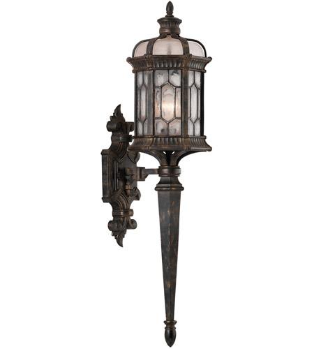 Fine Art Lamps 414681 1st Devonshire 1 Light 32 Inch Bronze Outdoor Wall Mount