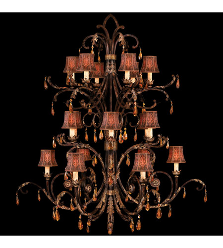 Fine Art Lamps Brighton Pavillion 18 Light Chandelier in Bronzed Sienna 417540ST photo