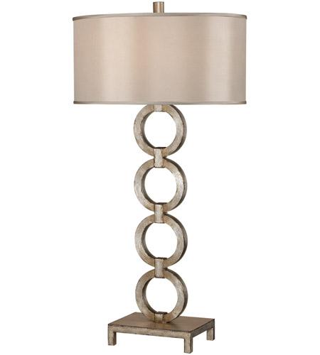 Fine Art Lamps Portobello Road 1 Light Table Lamp in Platinized Silver 420210ST photo