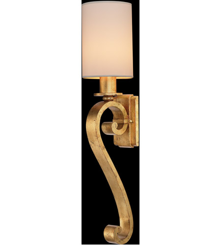 Fine Art Lamps Portobello Road 1 Light Sconce in Dore 420550ST photo