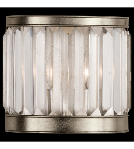 Fine Art Lamps 455450ST Crystal Enchantment 1 Light 9 inch Platinized Silver Coupe Wall Light photo