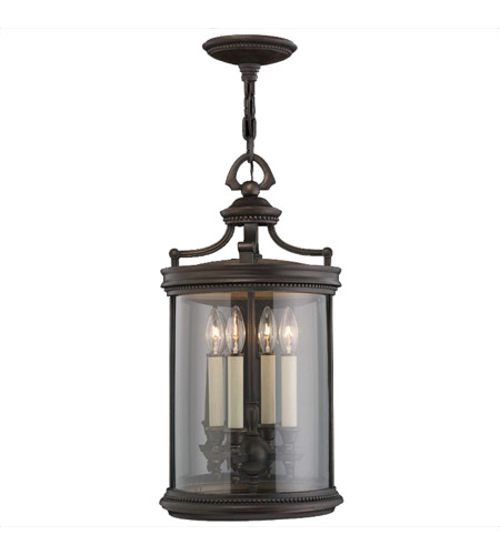 Fine Art Lamps Louvre 4 Light Outdoor Lantern in Fine Bronze 538282ST photo