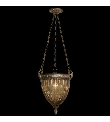 Fine Art Lamps 16440 Brazilian 1 Light 16 inch Brown Patina and Prata Antiga Silver Accents Pendant Ceiling Light photo