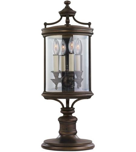 Fine Art Lamps Louvre 4 Light Outdoor Adjustable Pier/Post Mount in Fine Bronze 559483ST photo