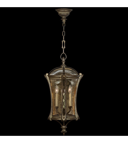 Fine Art Lamps Gramercy Park 4 Light Outdoor Lantern in Aged Antique Gold 571882ST photo
