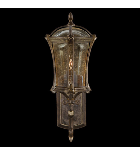 Fine Art Lamps 572281ST Gramercy Park 1 Light 21 inch Aged Antique Gold Outdoor Wall Mount photo