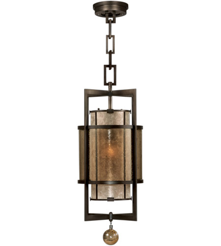 Fine Art Lamps 590040ST Singapore Moderne 1 Light 13 inch Brown Patinated Bronze Lantern Ceiling Light photo