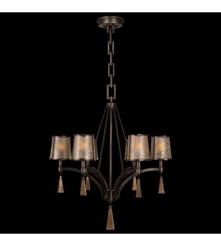 Fine Art Lamps Singapore Moderne 6 Light Chandelier in Brown ...