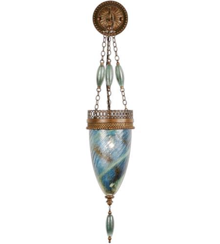 Fine Art Lamps Scheherazade 1 Light Sconce in Aged Dark Bronze 608850-3ST photo