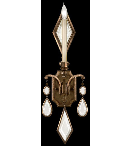 Fine Art Lamps 717850-3ST Encased Gems 1 Light 9 inch Venerable Bronze Patina Sconce Wall Light photo