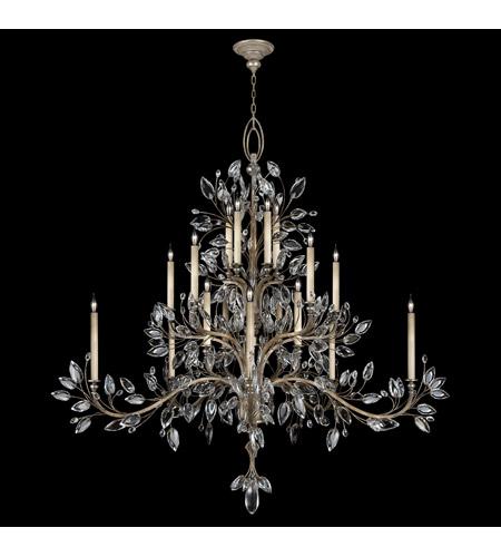 Fine Art Lamps Crystal Laurel 20 Light Chandelier In