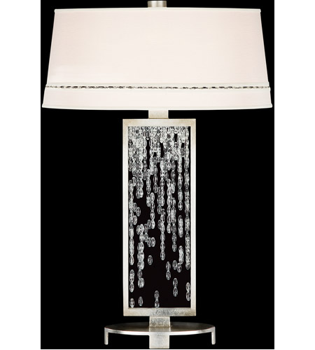 Fine Art Lamps Cascades 1 Light Table Lamp in Warm Silver Leaf 771910ST photo