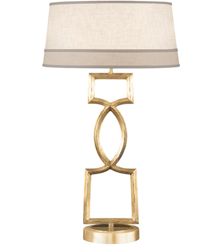 Fine Art Lamps Allegretto 1 Light Table Lamp in Burnished Gold Leaf 785010-2ST photo