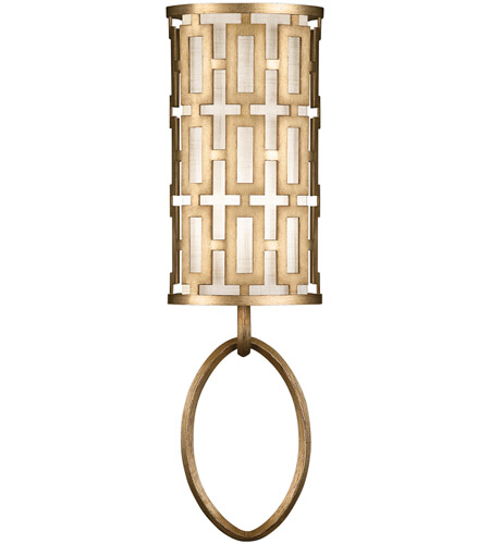 Fine Art Lamps 787450-2ST Allegretto Gold 1 Light 8 inch Burnished Gold Leaf Sconce Wall Light photo