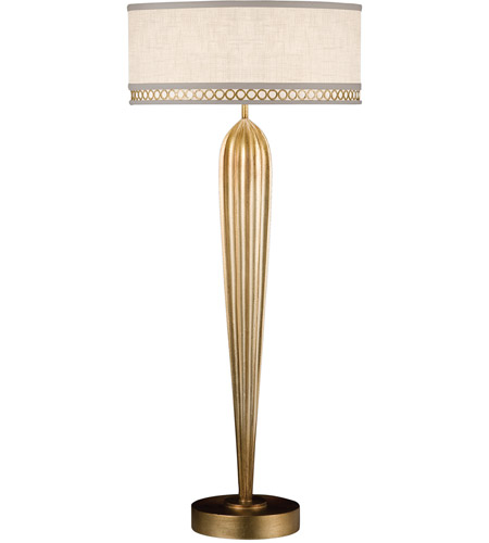 Fine Art Lamps Allegretto 2 Light Table Lamp in Burnished Gold Leaf 792915-2ST photo