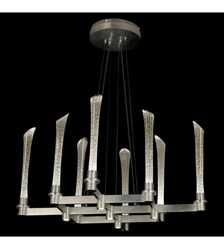 Fine Art Lamps Catalyst 10 Light Chandelier in Crystal 795140LD photo