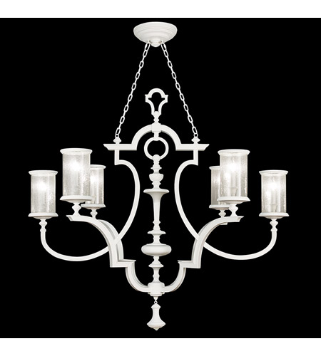 Fine Art Lamps Black And White Story 6 Light Chandelier In