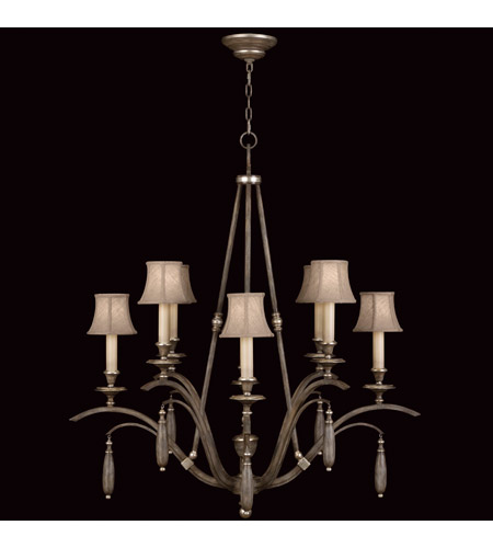 Fine Art Lamps Villa Vista 8 Light Chandelier in Hand Painted Driftwood 807040ST photo