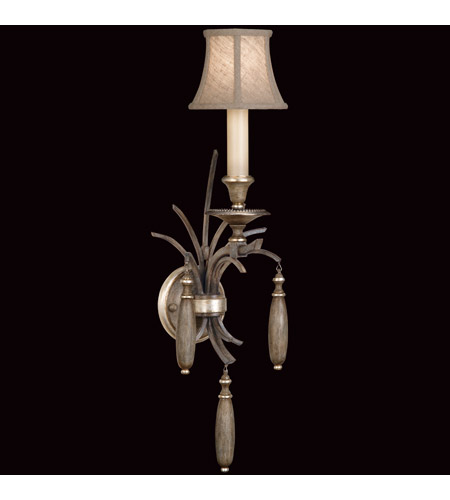 Fine Art Lamps Villa Vista 1 Light Sconce in Hand Painted Driftwood 808550ST photo