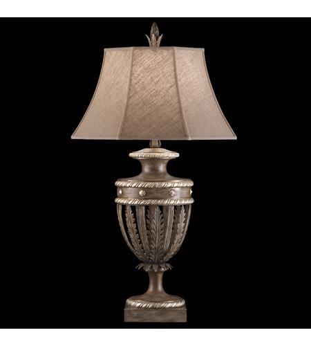 Fine Art Lamps Villa Vista 1 Light Table Lamp in Hand Painted Driftwood 810210ST photo