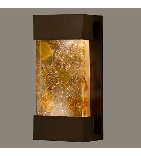 Fine Art Lamps 810850-11ST Crystal Bakehouse 2 Light 7 inch Bronze Sconce Wall Light photo