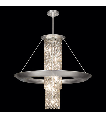 Fine Art Lamps 813440ST Celestial 12 Light 39 inch Silver Leaf Pendant Ceiling Light photo