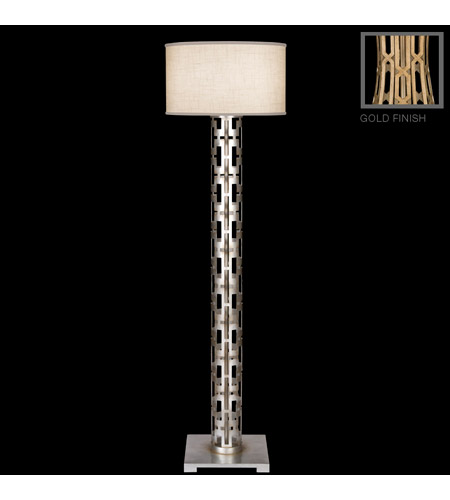 Fine Art Lamps 817020-2ST Allegretto Gold 66 inch 150 watt Gold Floor Lamp Portable Light photo