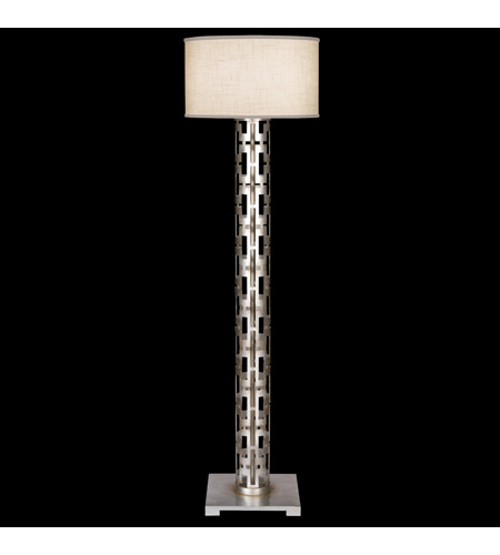Fine Art Lamps Allegretto 1 Light Floor Lamp in Silver 817020ST photo