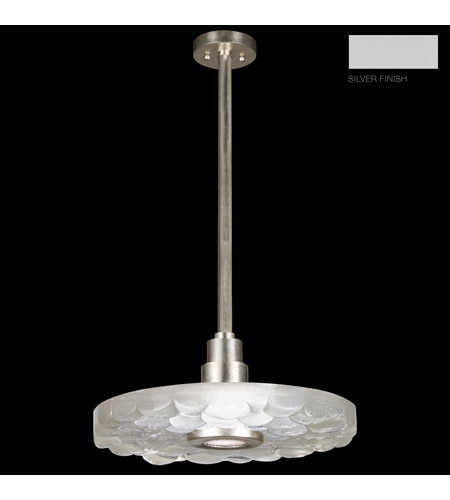 Fine Art Lamps 823240-24ST Crystal Bakehouse 1 Light 16 inch Silver Pendant Ceiling Light photo