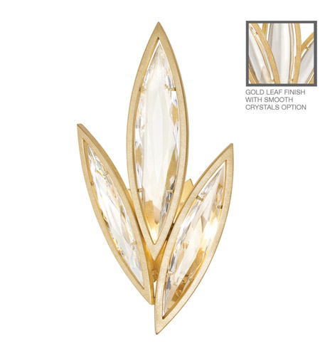 Fine Art Lamps Marquise 2 Light Wall Sconce in Florentine Brushed Gold Leaf 849250-21ST