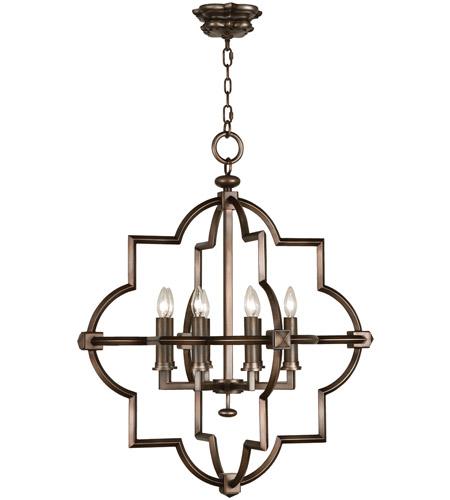 Fine Art Lamps 860040st Liaison 8 Light 30 Inch Bronze Pendant Ceiling