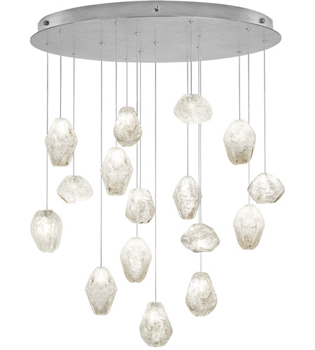 Fine Art Lamps 862840-11ST Natural Inspirations 16 Light 32 inch Silver Drop Light Ceiling Light photo thumbnail