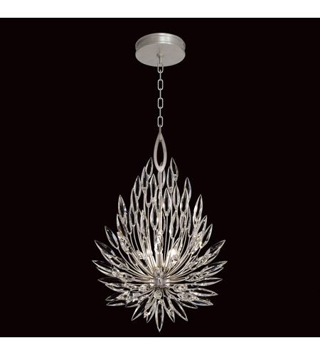 Fine Art Lamps 881640 1st Lily Buds 3 Light 19 Inch Gold Chandelier Ceiling