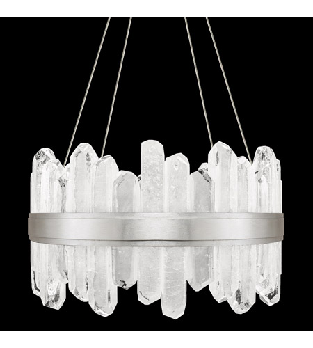 fine art lamps 882040 1st lior led 21 inch silver pendant ceiling light