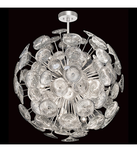 Fine Art Lamps Silver Chrysanthemums Pendants